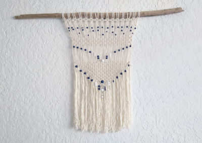 Wall hanging marinière