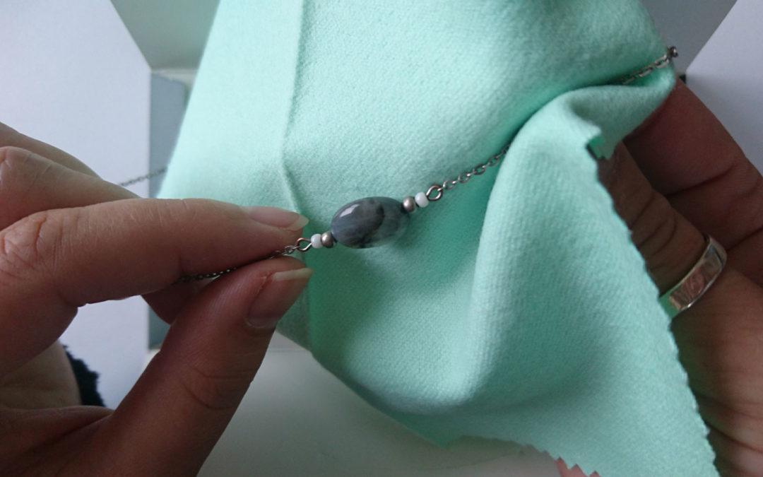 Petit récap pour le nettoyage de vos bijoux