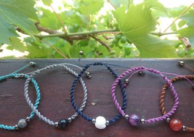 Bracelets de lithothérapie