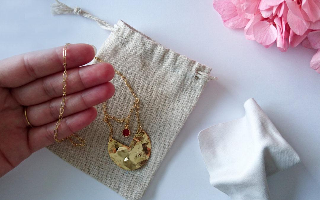Entretien de vos bijoux en gold filled ou plaqué or